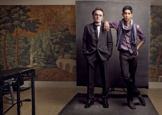 Danny Boyle and Dev Patel Vanity Fair