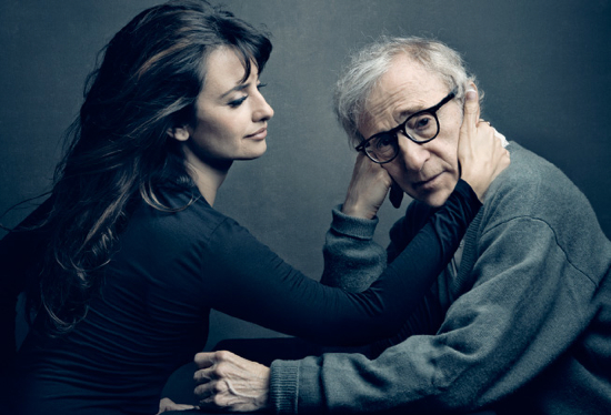 Penelope Cruz and Woody Allen Vanity Fair