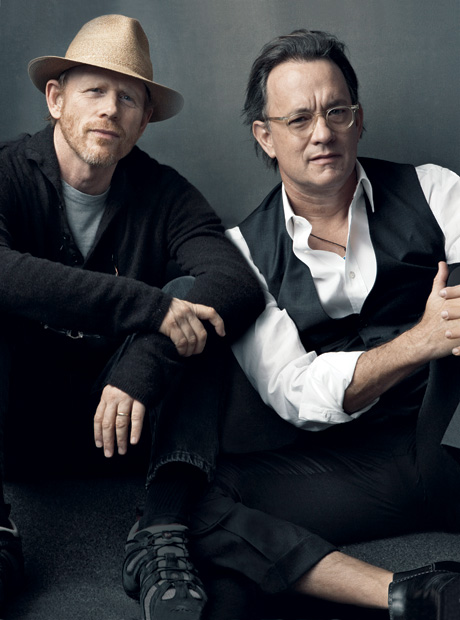 Ron Howard and Tom Hanks Vanity Fair
