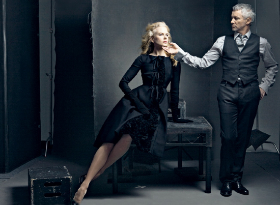 Nicole Kidman and Baz Luhrmann Vanity Fair