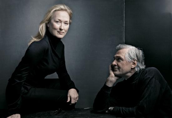 Meryl Streep and John Patrick Shanley Vanity Fair
