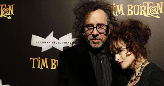 Celebrities At The Tim Burton Exhibition Dinner