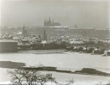 Pražský hrad ve fotografii 1900 - 1939